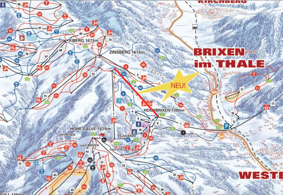Téléporté Mixte (TSCD 8/10) Zinsbergbahn Captur73