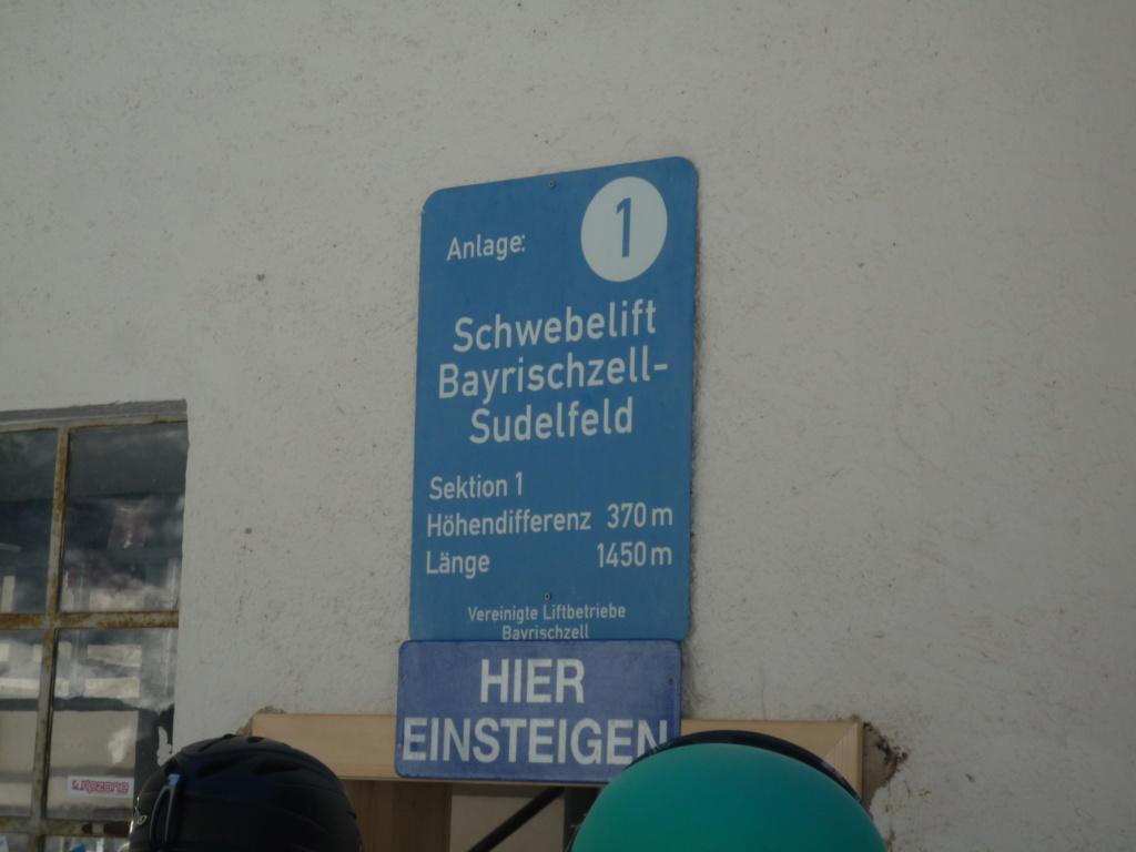 Télésiège Fixe 1 place (TSF1) Schwebelift Bayrischzell P1060461