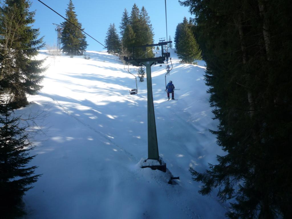 Télésiège Fixe 1 place (TSF1) Schwebelift Bayrischzell P1060473