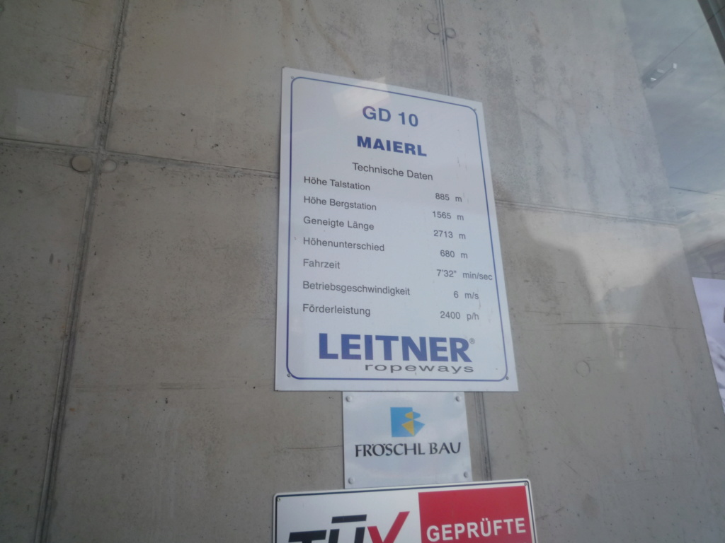 Télécabine Débrayable (TCD10) Maierlbahn P1060563