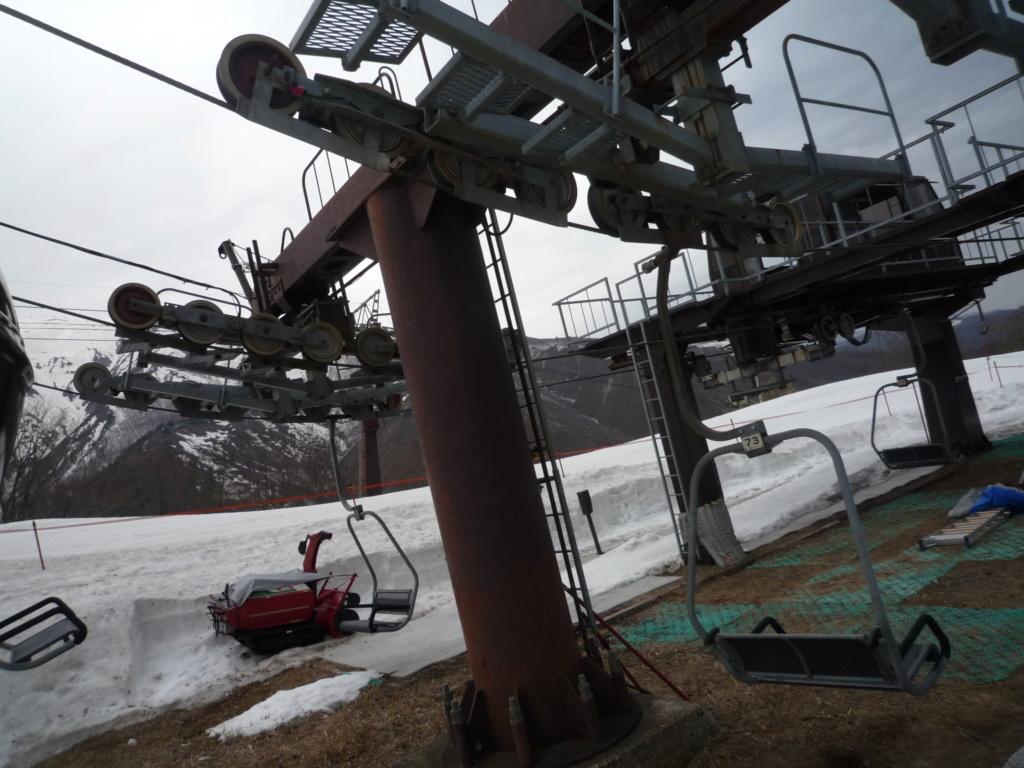 Double Télésiège Fixe 2 places (2x TSF2) Chair Lift Line A - B P1070434