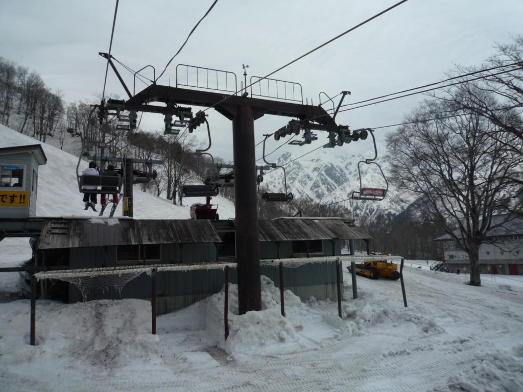 Double Télésiège Fixe 2 places (2x TSF2) Chair Lift Line A - B P1070445