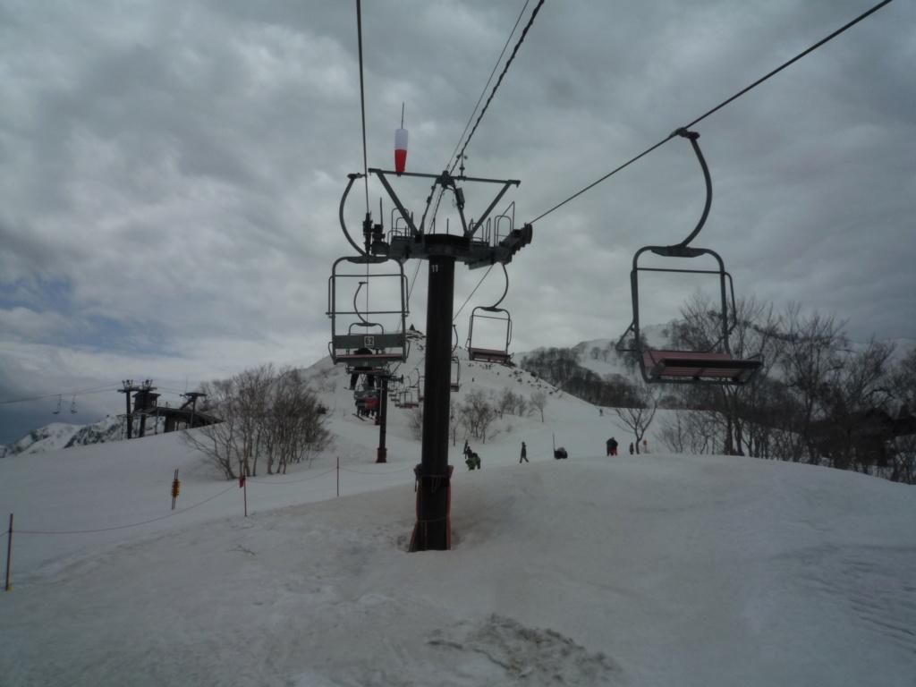 Télésiège Fixe 2 places (TSF2) Alps 1st Chair Lift P1070523