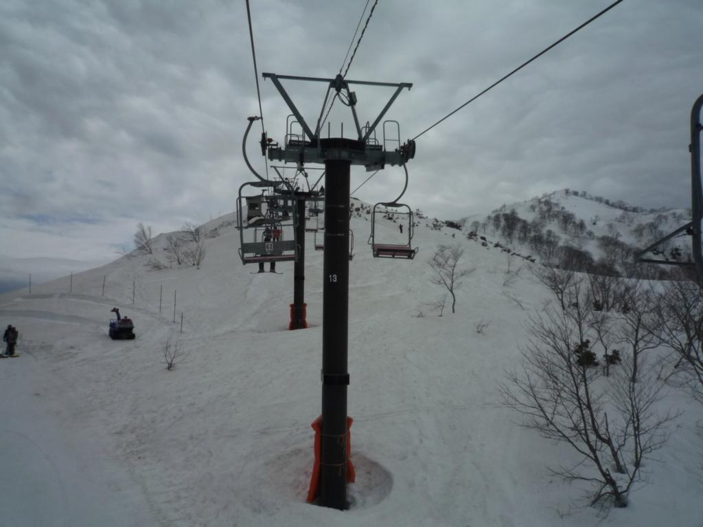 Télésiège Fixe 2 places (TSF2) Alps 1st Chair Lift P1070525