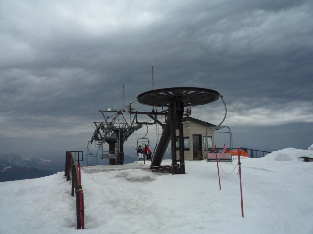 Télésiège Fixe 2 places (TSF2) Alps 1st Chair Lift P1070528
