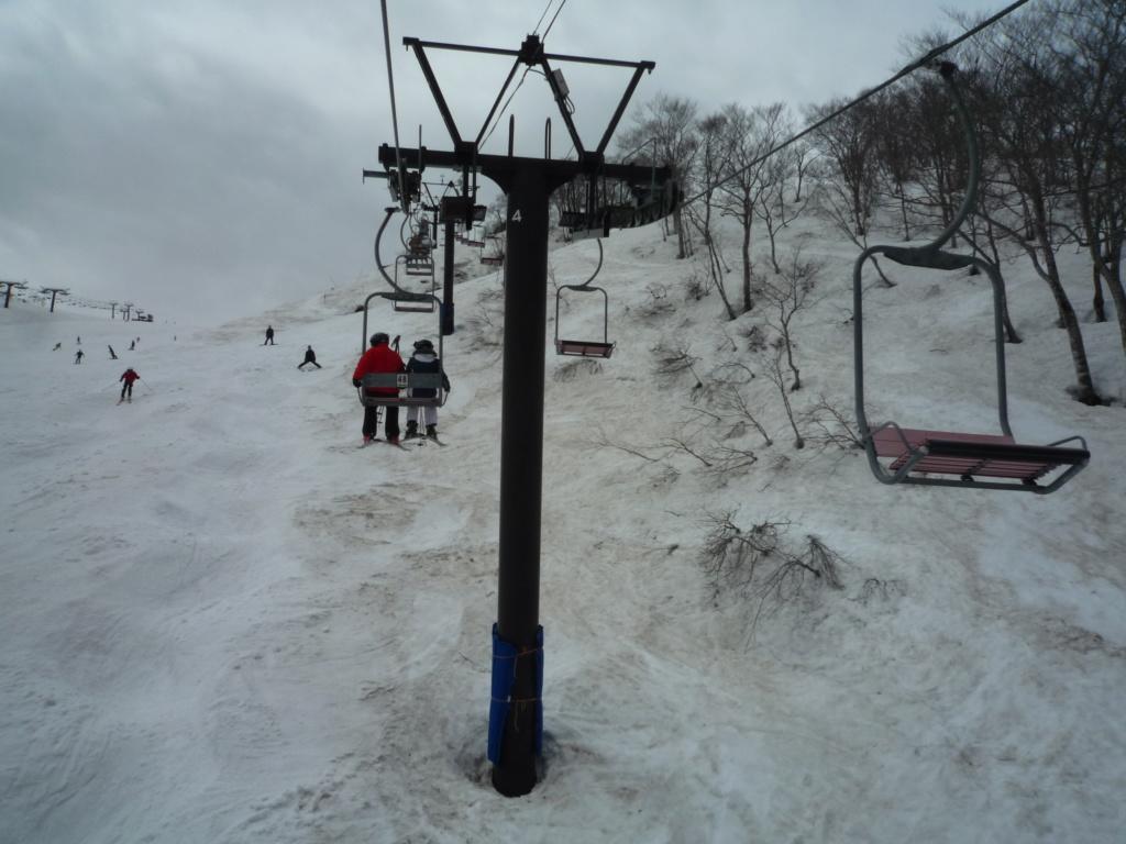 Télésiège Fixe 2 places (TSF2) Alps 3rd Chair Lift P1070537