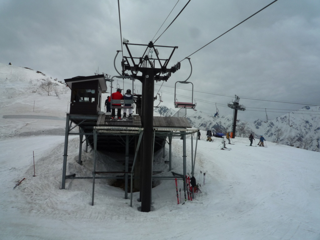 Télésiège Fixe 2 places (TSF2) Alps 3rd Chair Lift P1070545