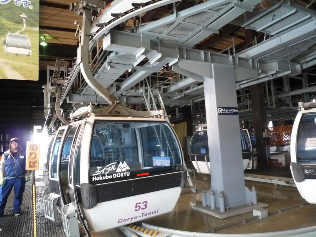 Télécabine Débrayable 8 places (TCD8) Goryu Express P1070561