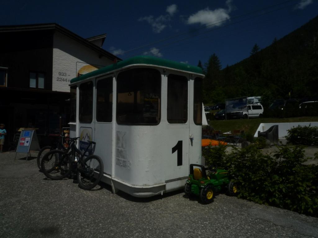 Téléphérique à va et viens (TPH25) Karwendelbahn P1080224