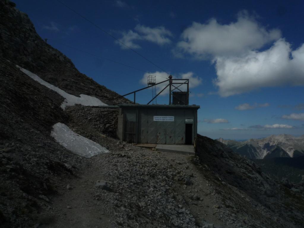 Téléphérique à va et viens (TPH25) Karwendelbahn P1080235