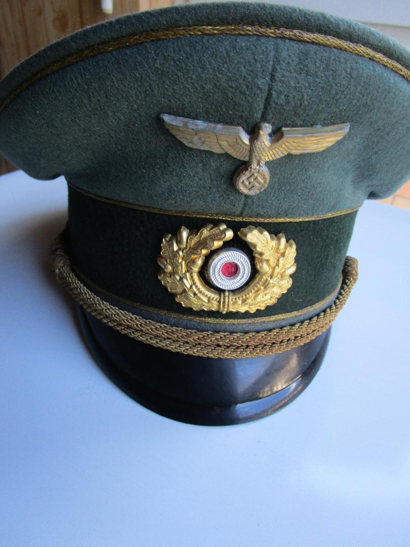 Authentification schirmmützen général heer et officier SS Image116