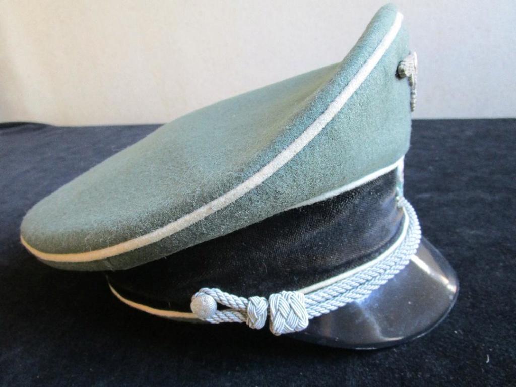 Authentification schirmmützen général heer et officier SS Image613