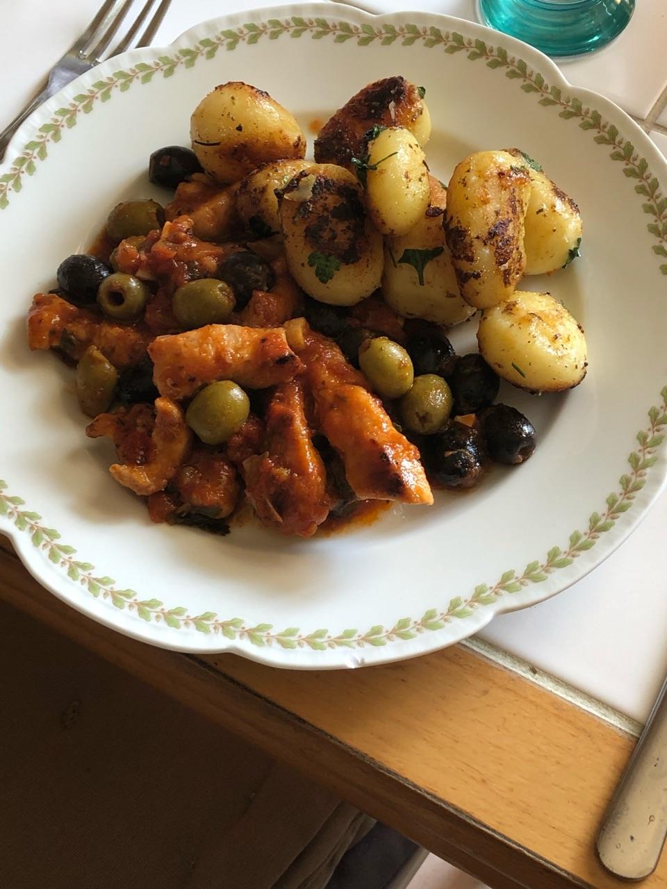 Sauté de dinde aux olives Sautea11