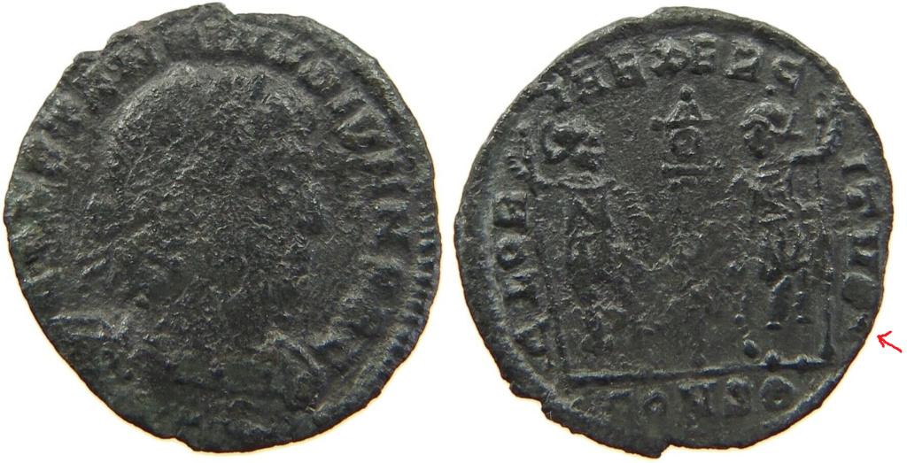 Constantin II et Constance II Consta11