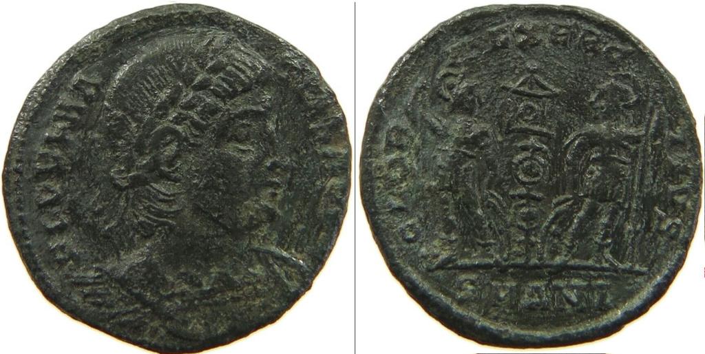 Constantin II et Constance II Consta12