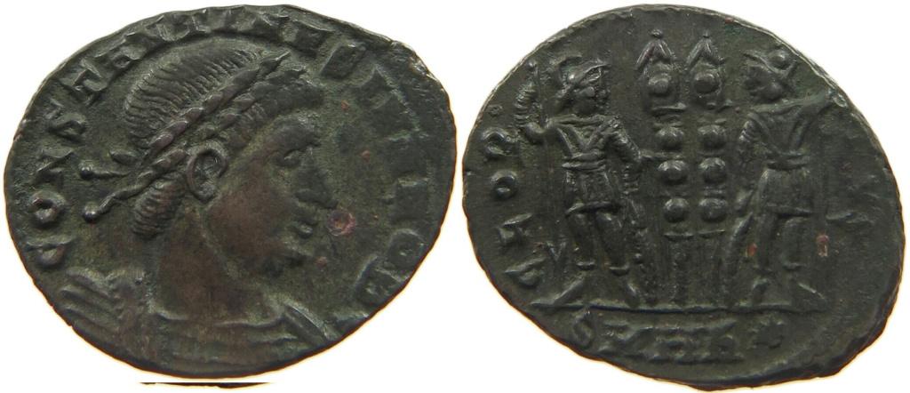 Constantin II et Constance II Consta14