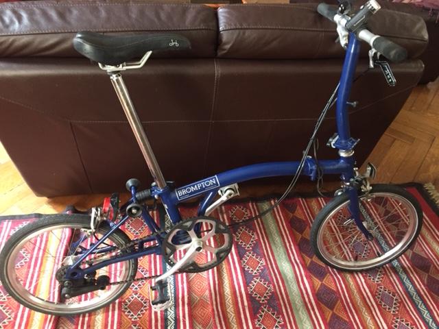 Vélo Brompton 2 vitesses Img_3213