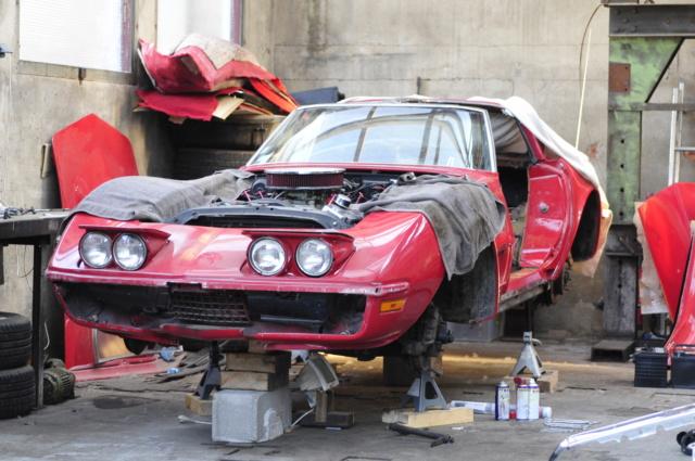 Corvette C3 1971 : Après le nid douillet, se refaire une santé - Page 3 _dsc6011