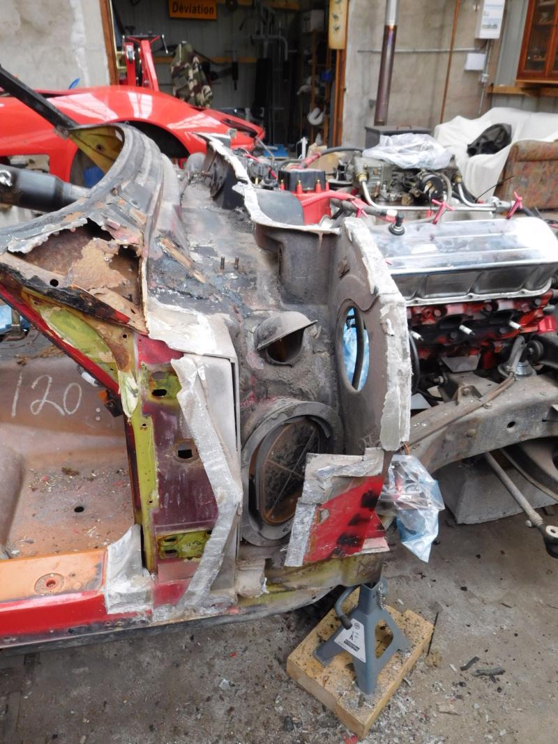 Corvette C3 1971 : Après le nid douillet, se refaire une santé - Page 5 Dscn1115