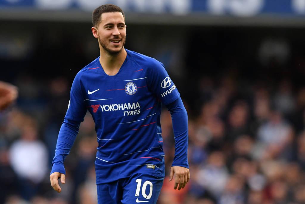 """Presidente do Real Madrid confirma negociação com Hazard: """"Acredito que venha nesta janela""""  000_1b10"""