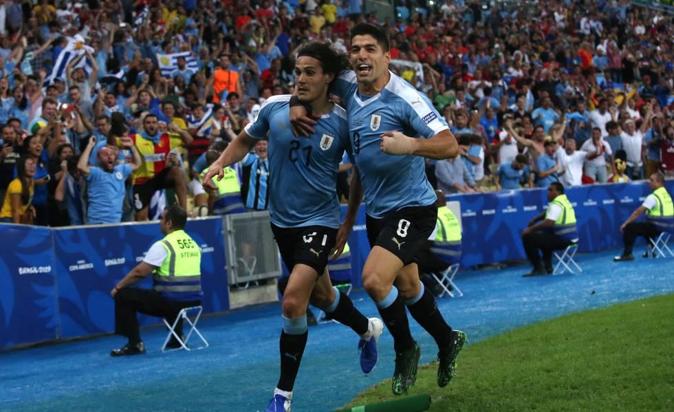 Uruguai não abandona sua velha receita nesta Copa América 15614110