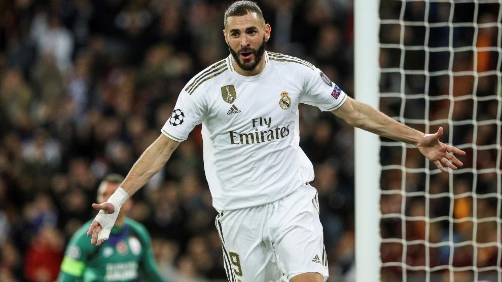 Benzema vira o maior garçom da história do Real Madrid: o 9 que joga de 10 15734110