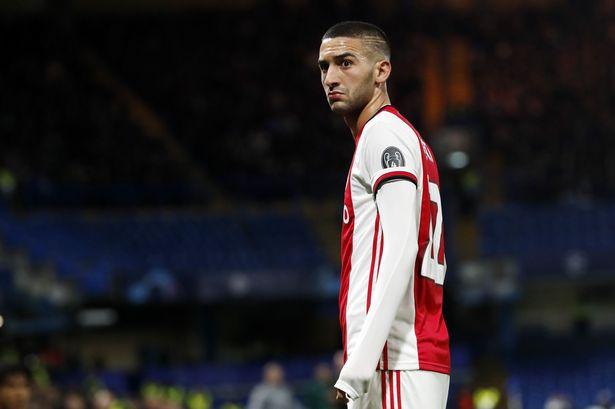 Ziyech, destaque do Ajax, é o primeiro alvo do Chelsea para a próxima temporada 1_gett10
