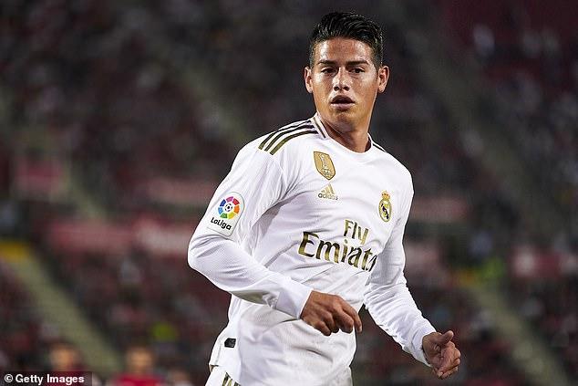 James vive um ostracismo no Real Madrid: adeus está próximo - de novo 25796010