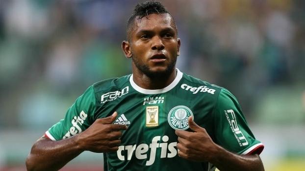 Santos faz proposta pelo atacante Miguel Borja, do Palmeiras 622_a110
