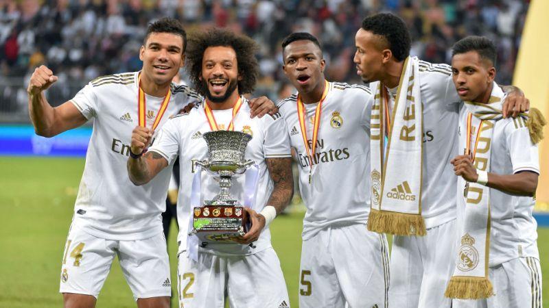 Rodrygo e Vinicius Júnior, campeões na primeira decisão disputada com o Real Madrid 813b2f10