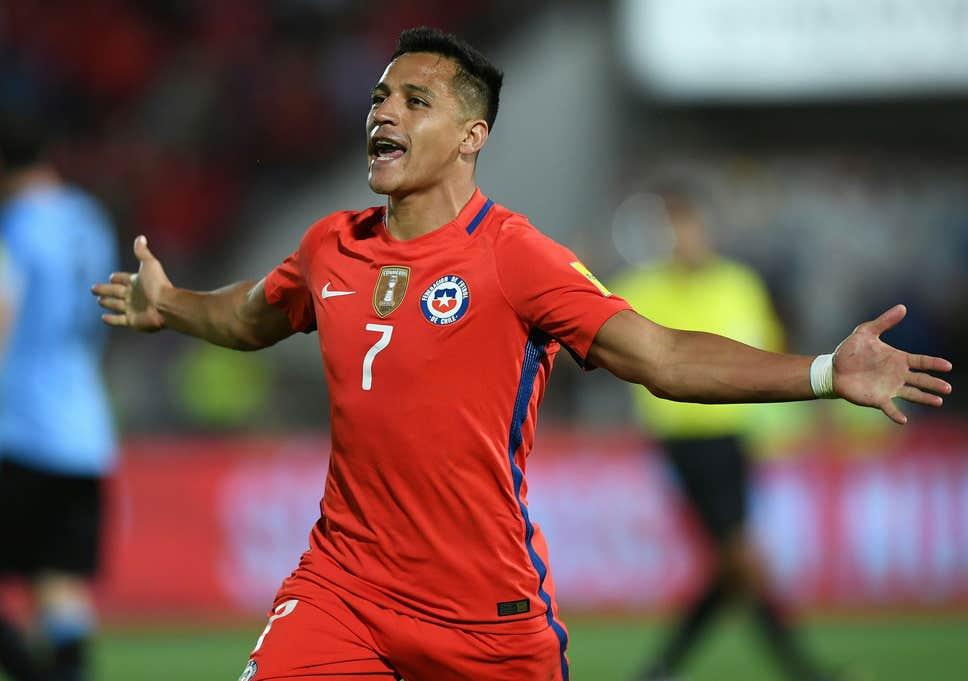 """Seleção do Chile é o """"porto seguro"""" de Alexis Sánchez Alexis12"""