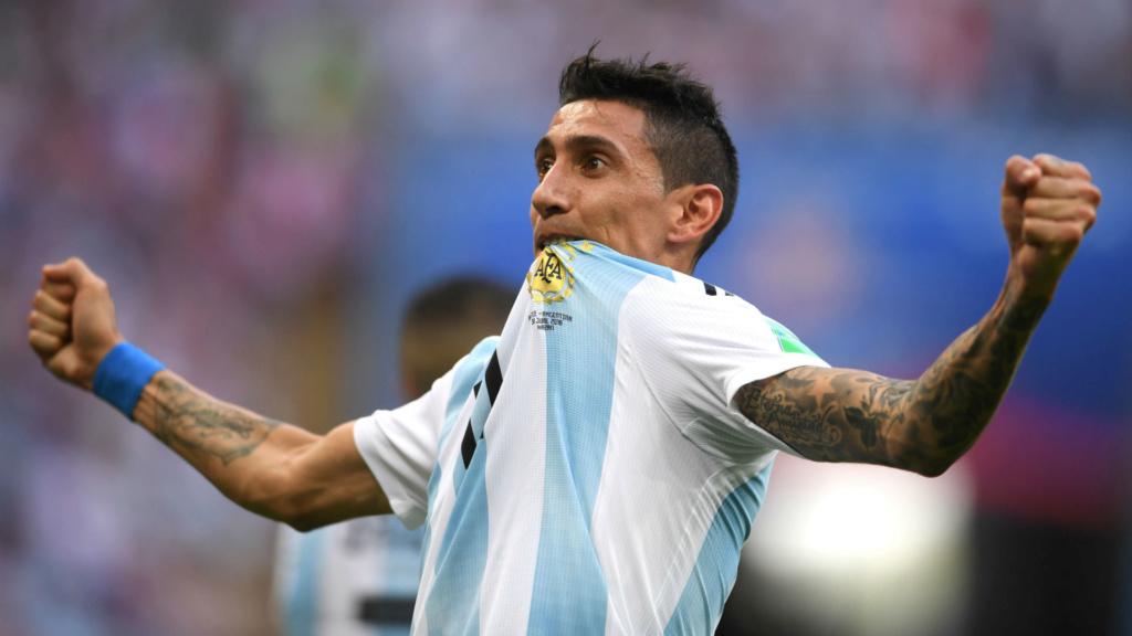 Di María mostra otimismo com Argentina na semifinal da Copa América Angel-12