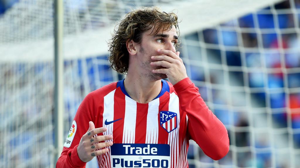 """""""Ninguém do Barcelona me procurou"""", diz presidente do Atlético sobre Griezmann Antoin10"""