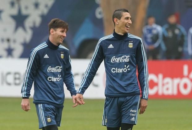 """""""Amo jogar com o Anão"""" - Messi é a única razão para Di Maria ir para o Barcelona Defaul12"""