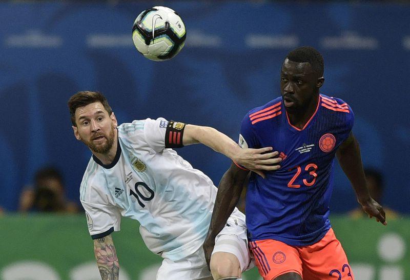 Colombia joga pela liderança, enquanto Argentina quer evitar vexame Downlo12