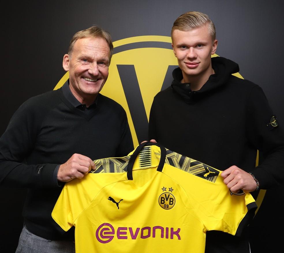 Quem é Erling Braut Haaland, o reforço do Dortmund que foi comparado a Ibrahimovic? Em9hpe10