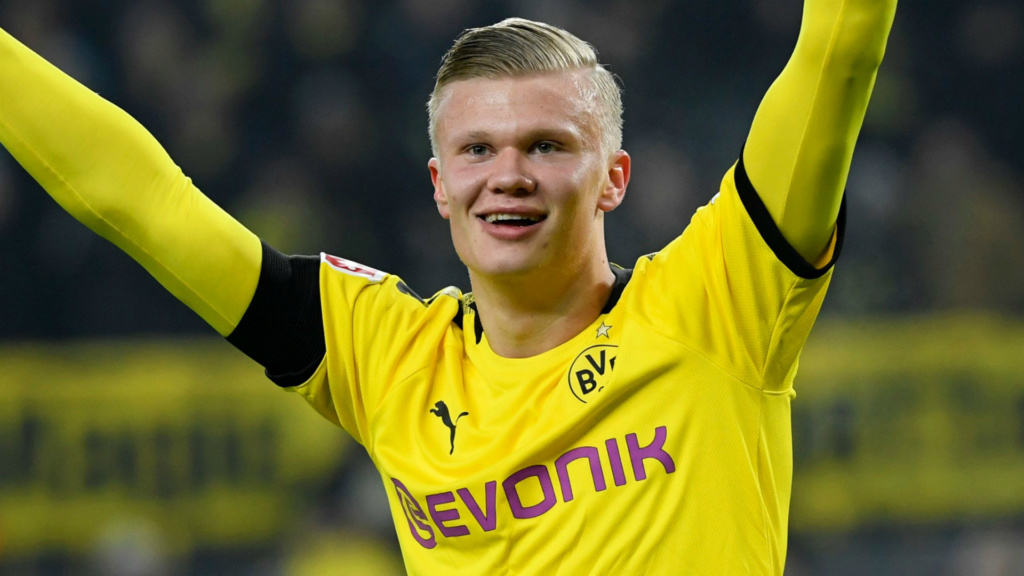 Haaland: seis gols em menos de 90min e um começo histórico no Dortmund Erling10