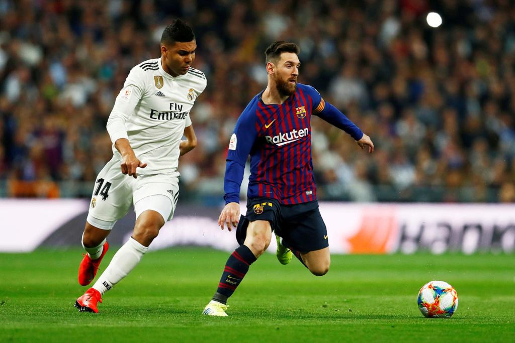 Barcelona e Real Madrid podem já se enfrentar na Copa do Rei. Depende da sorte Esoirt10