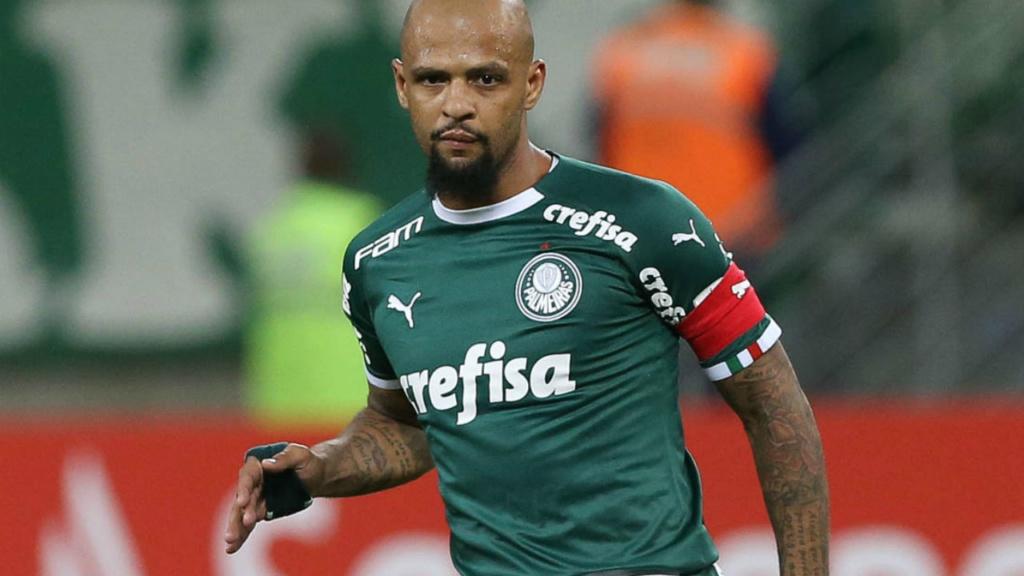 Palmeiras negocia renovação de Felipe Melo Felipe10