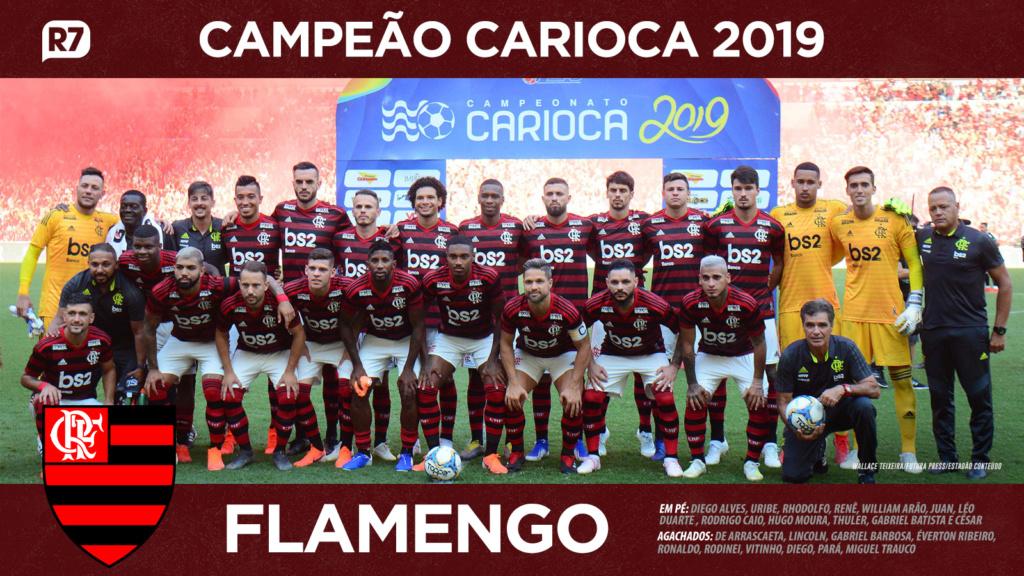 Campeão Carioca, Flamengo domina a lista da seleção do Estadual Flamen10