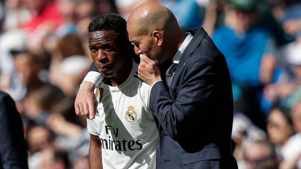 "Zidane aconselha Vinicius Jr: ""tem que ser ambicioso"" I12"