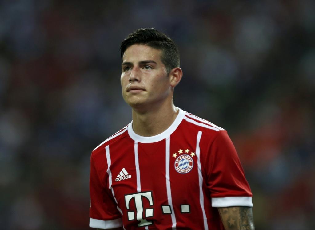 James Rodríguez decide deixar o Bayern. PSG pode ser um destino, diz TV James_10