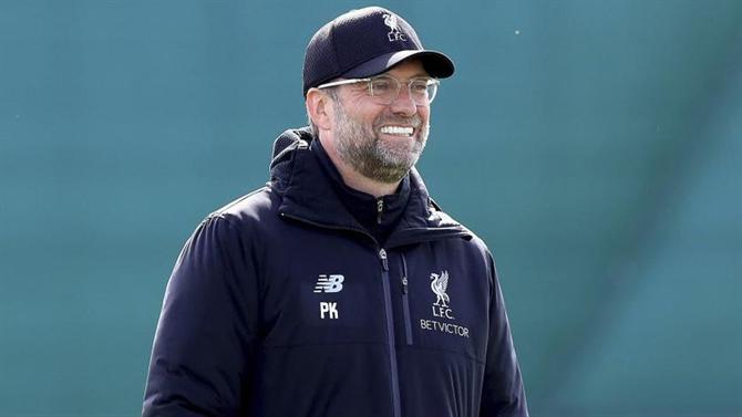Vitória do Liverpool sobre o Barcelona foi um dos maiores momentos da história, diz Klopp Klopp310