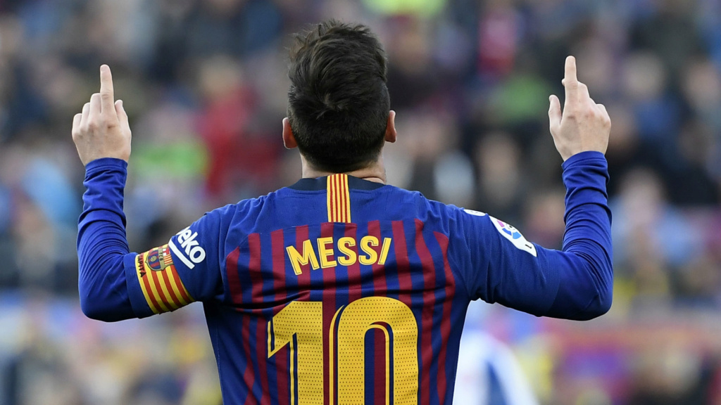 Messi iguala ídolo do Real Madrid como jogador mais vitorioso de LaLiga Lionel10
