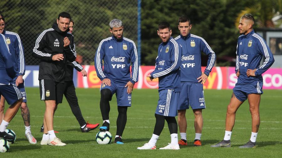 Argentina pode sofrer baixas antes da estreia na Copa América Lionel20