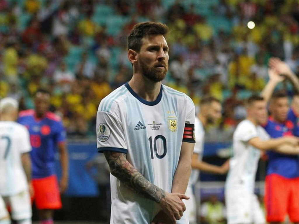 Messi: 'Seria loucura Argentina não passar da fase de grupos na Copa América' Lionel22