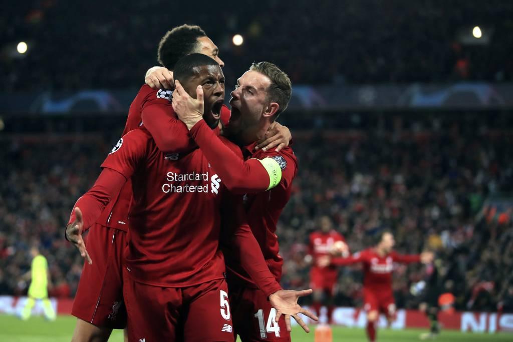 Liverpool faz jogo perfeito, goleia o Barça e é finalista da Champions Liverp10