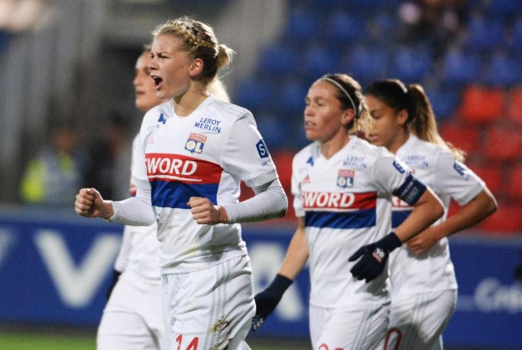 Lyon atropela o Barcelona e conquista a Champions League feminina Lyon-c10