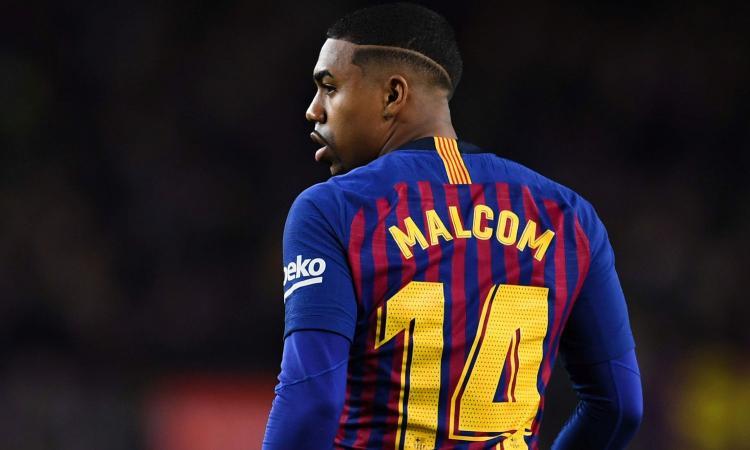 Milan inicia conversas e tenta tirar Malcom do Barcelona Malcom10