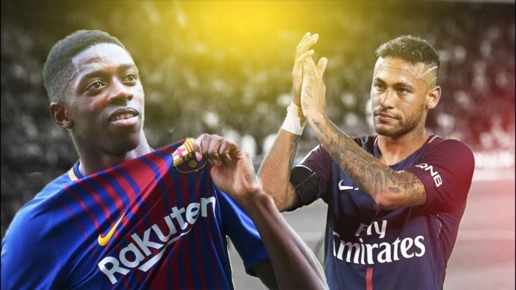 Barcelona e PSG iniciam conversa para trocar Neymar por Dembélé, diz rádio espanhola Maxres15